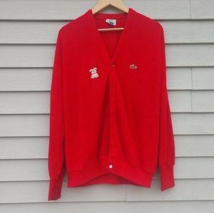 Vintage Lacoste Cardigan Sweater